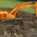 Hitachi Zaxis 870 von Vario Earthmovers